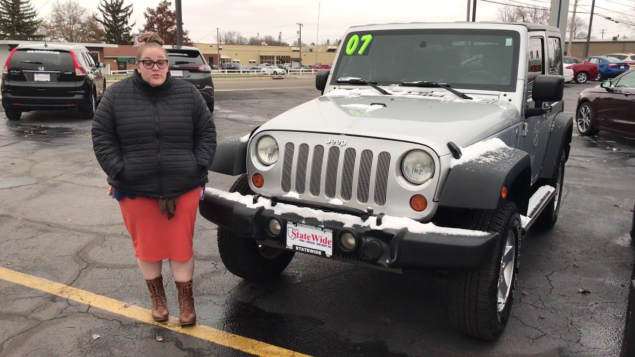 Jeep Wrangler X Here At Statewide Ford Lincoln In Van Wert Oh