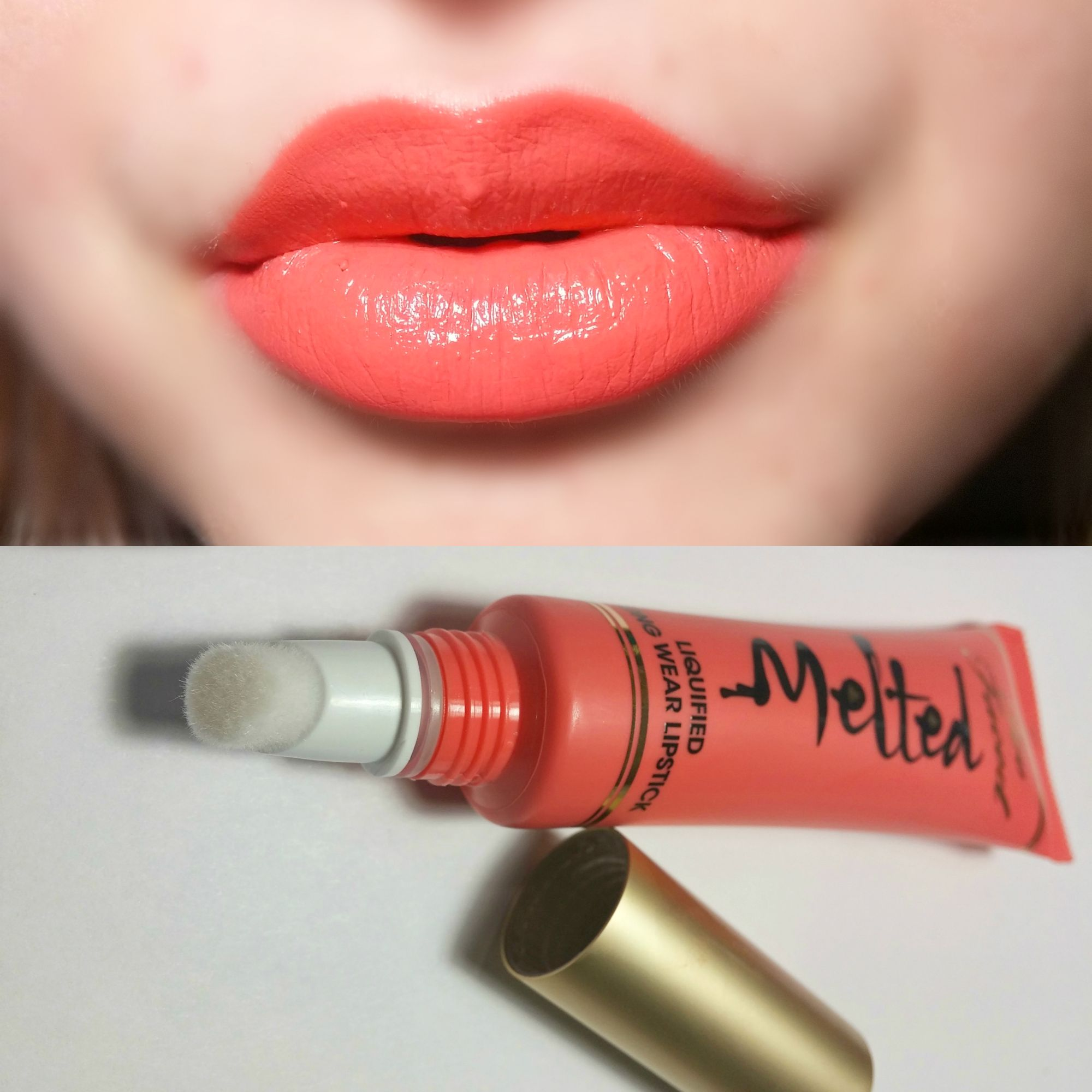 2 X Estee Lauder Lipstick Pure Color 25 Melon Shimmer Full Size