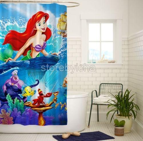 Disney Ariel The Little Mermaid High Quality Bathroom Shower