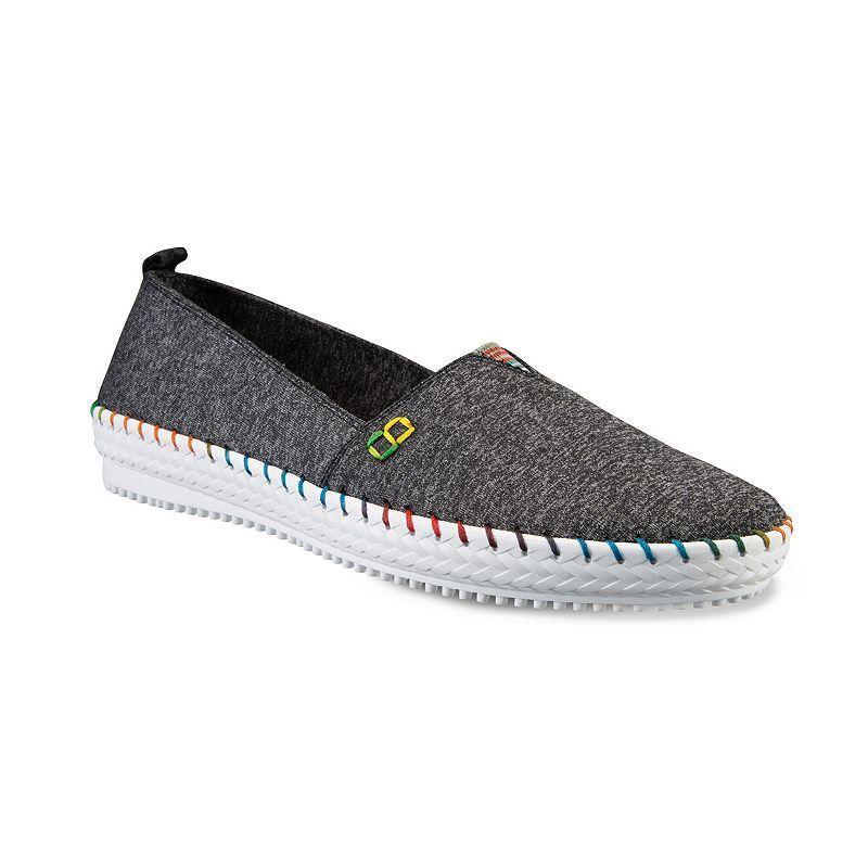 Skechers BOBS Spotlights Women's Slip-On Flats, Girl's, Size: 9, Grey