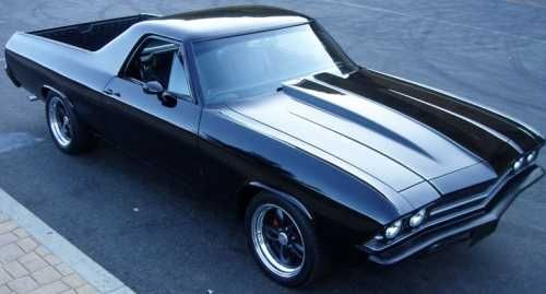 1969 Chevrolet El Camino Classic Cars Cars Dream Cars