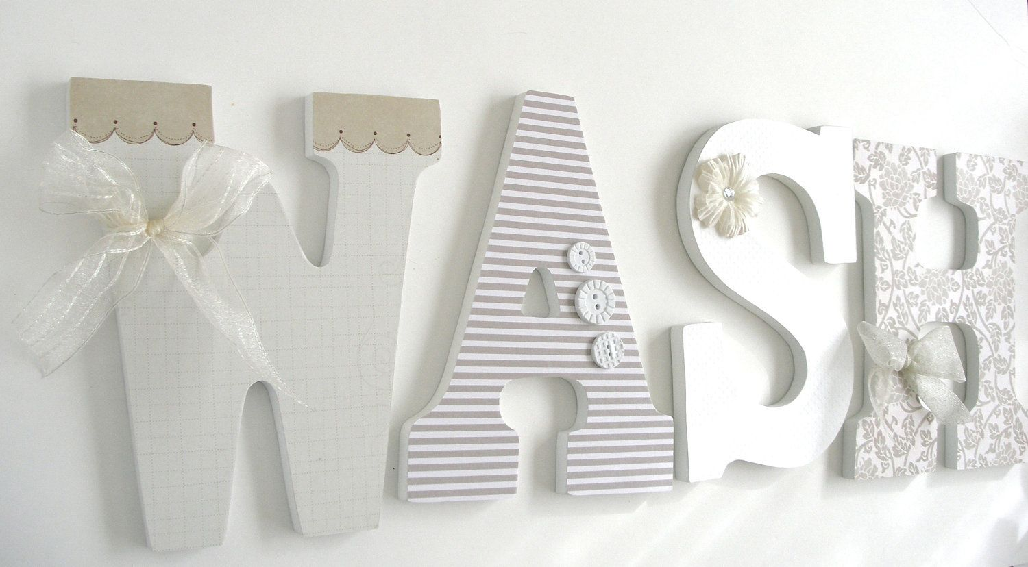 large wooden letters for nursery wall great deals on letters for