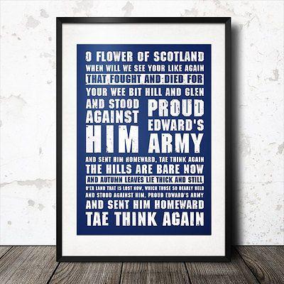 o flower of scotland