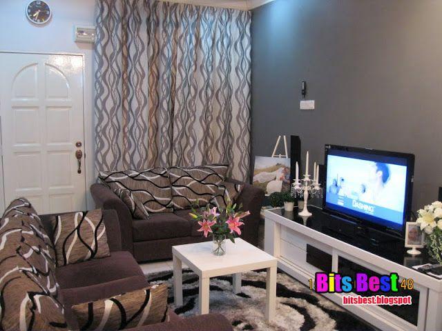 Deco Ruang Tamu Rumah Teres Kos Rendah Bits Best Hiasan
