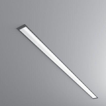 Recessed Ceiling Light Fixture Fluorescent Linear Outdoor Slim Line Ip54 Buck