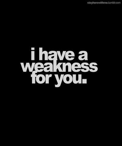 I have a weakness for you flirting love comments r magnet   Zazzle.com