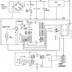 Circuit Diagram Of 8051 Microcontroller Based Mobile Phone Controlled Dc Motor Controller Circuit Diagram Pic Microcontroller Microcontrollers