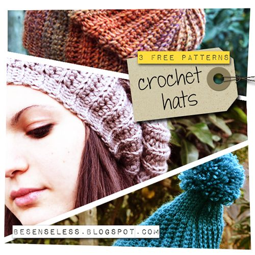 Free crochet hat patterns | Crochet {Hats!} | Pinterest | Mütze ...
