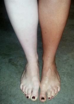 Wow Look At The Difference An Airbrush Tan Can Make