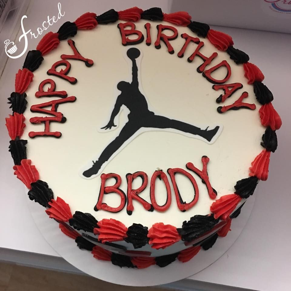 Fantastic 27 Awesome Picture Of Jordan Birthday Cakes Jordan Birthday Funny Birthday Cards Online Elaedamsfinfo