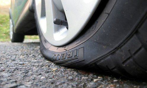 A Positive Attitude Is Like A Flat Tire Flat Tire Tire Car Tires