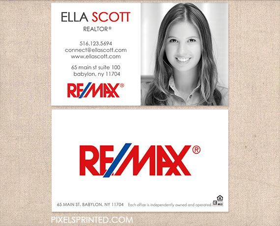 Remax business cards realtor business cards real estate agent remax business cards realtor business cards real estate agent business cards simple modern reheart Images