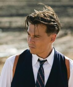 Jhonny Depp In Public Enemies Gangster Hairstyle How To Be A