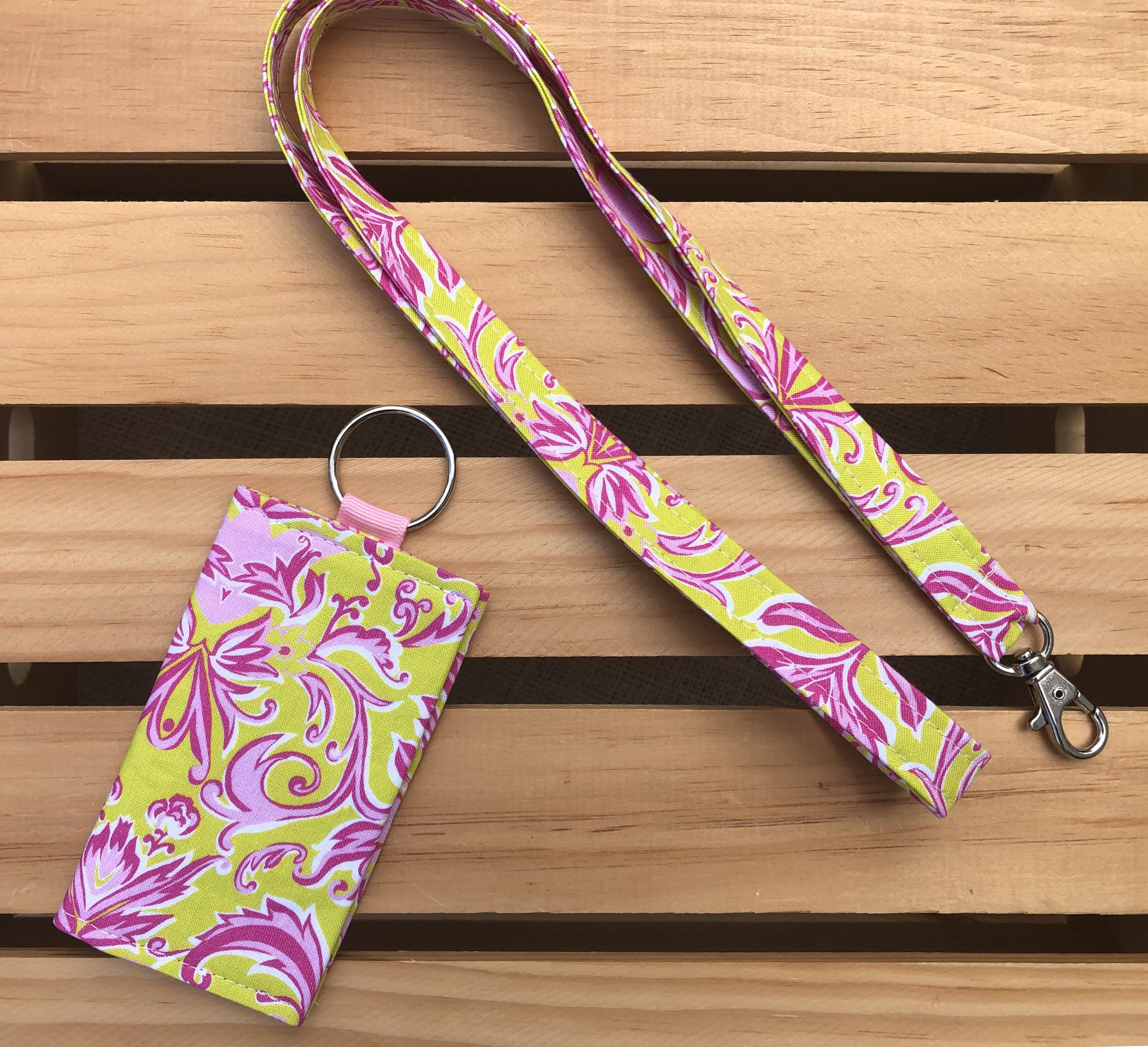 Card holderkeychain lanyard matching keychains gift