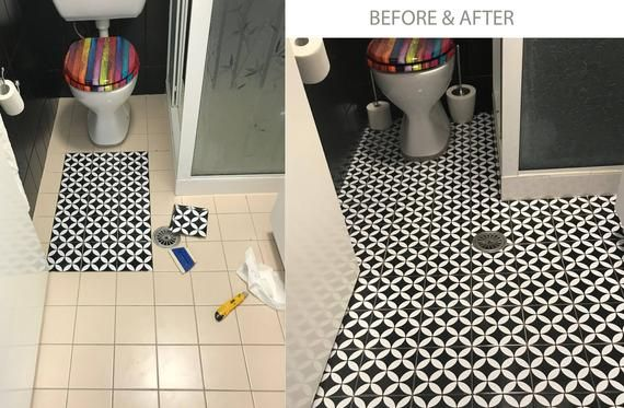 Barcelona Tile Wall Floor Stairs Vinyl Decal Removable Kitchen Bathroom Backsplash In 2020 Stairs Vinyl Bathroom Backsplash Flooring