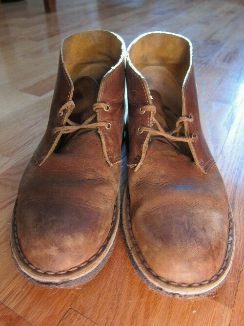 8622d774279 Eye Candy  Clarks Beeswax Desert Boots 2 Years In