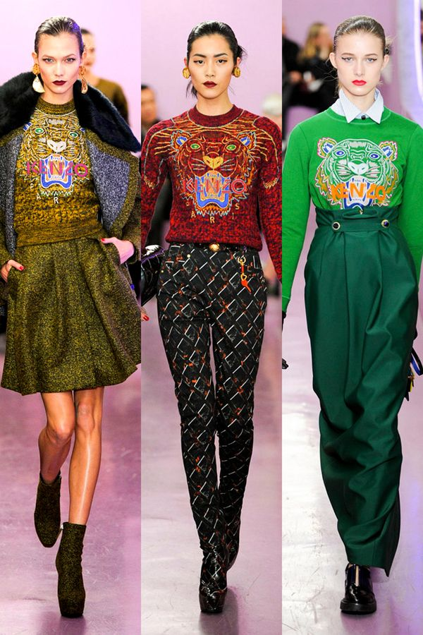 1980s Fashion Trends, Fall 2012 Trends: Zooland : Fashion ...