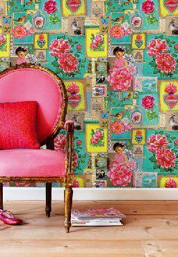 Que opinas del contraste turquesa con el rosa?