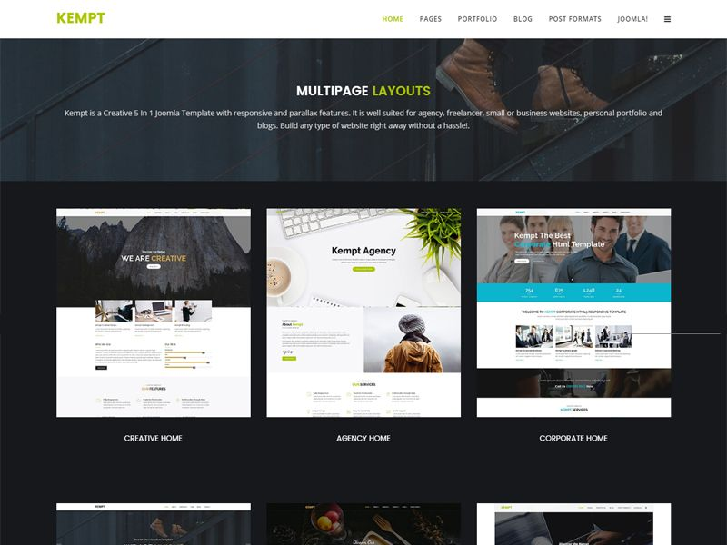 Kempt is a modern and clean free joomla business template it is kempt is a modern and clean free joomla business template it is well suited for agency freelancer small or business websites personal portfolio and wajeb Gallery
