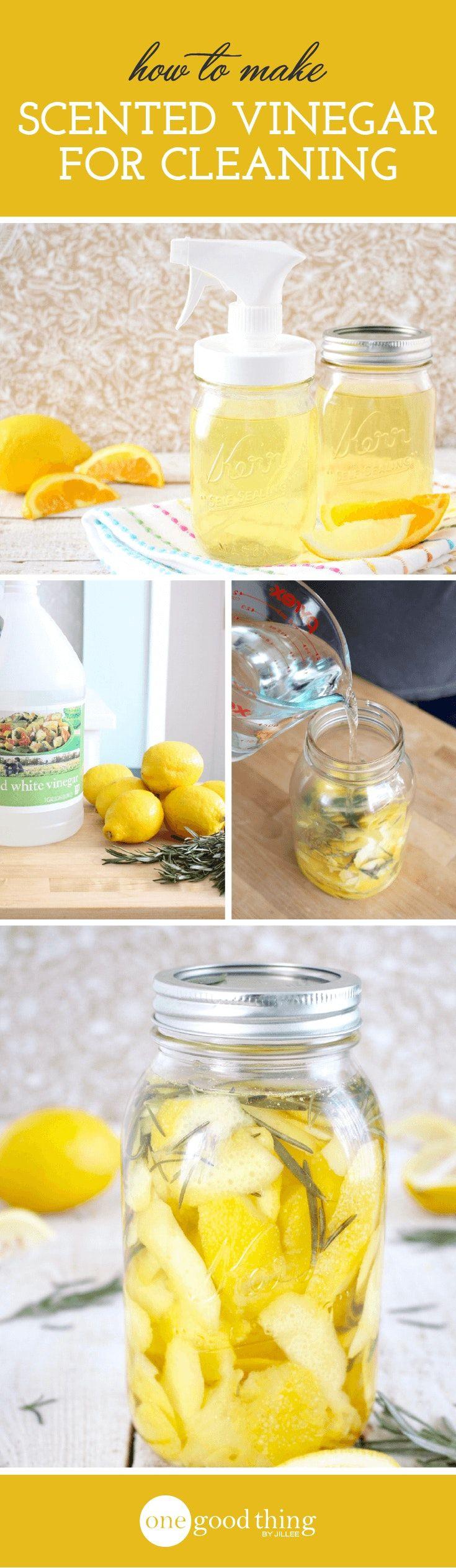 how to make homemade vinegar cleaner