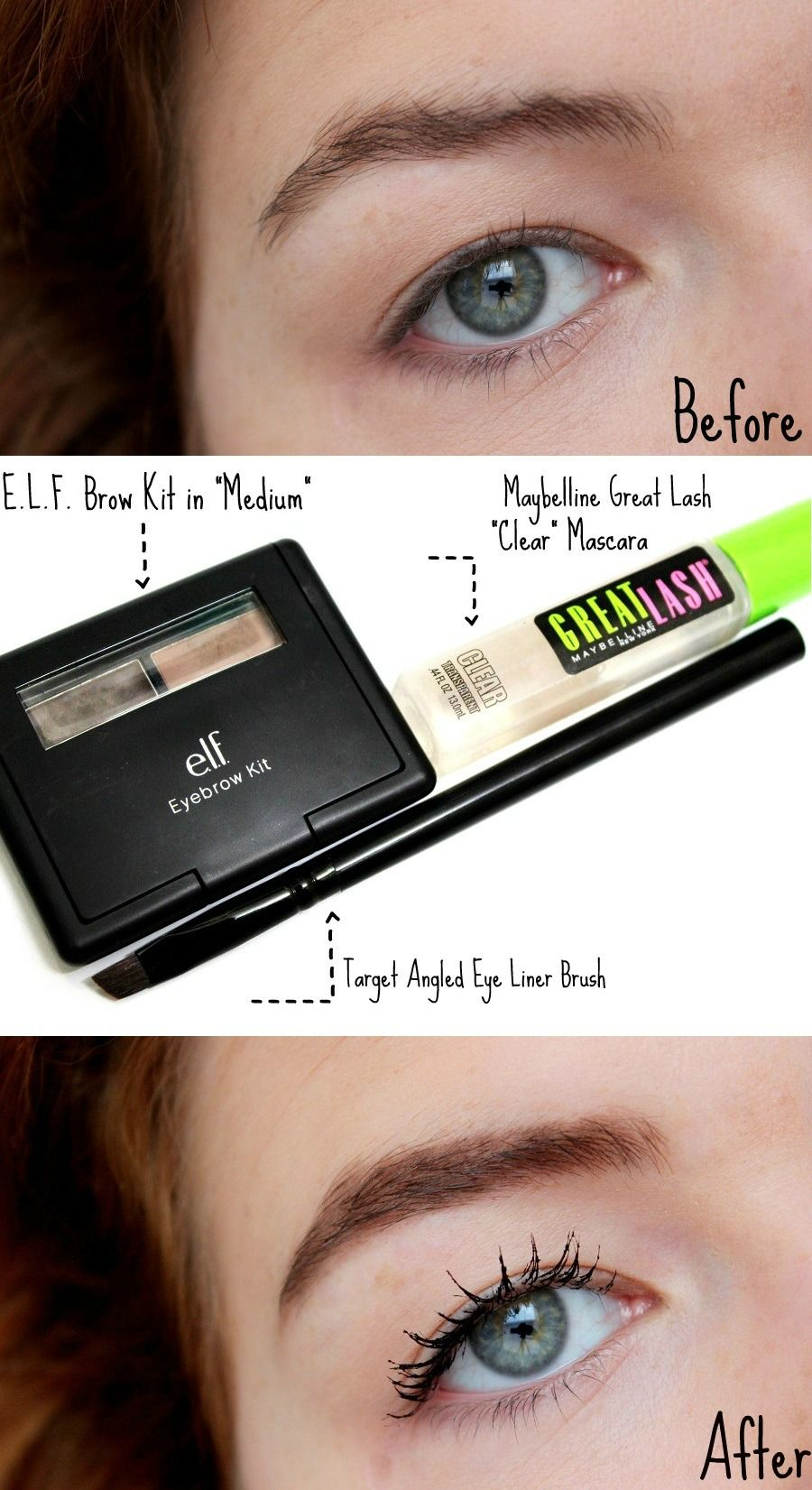 How To Tame And Fill In Unevenunruly Brows With Simple Products
