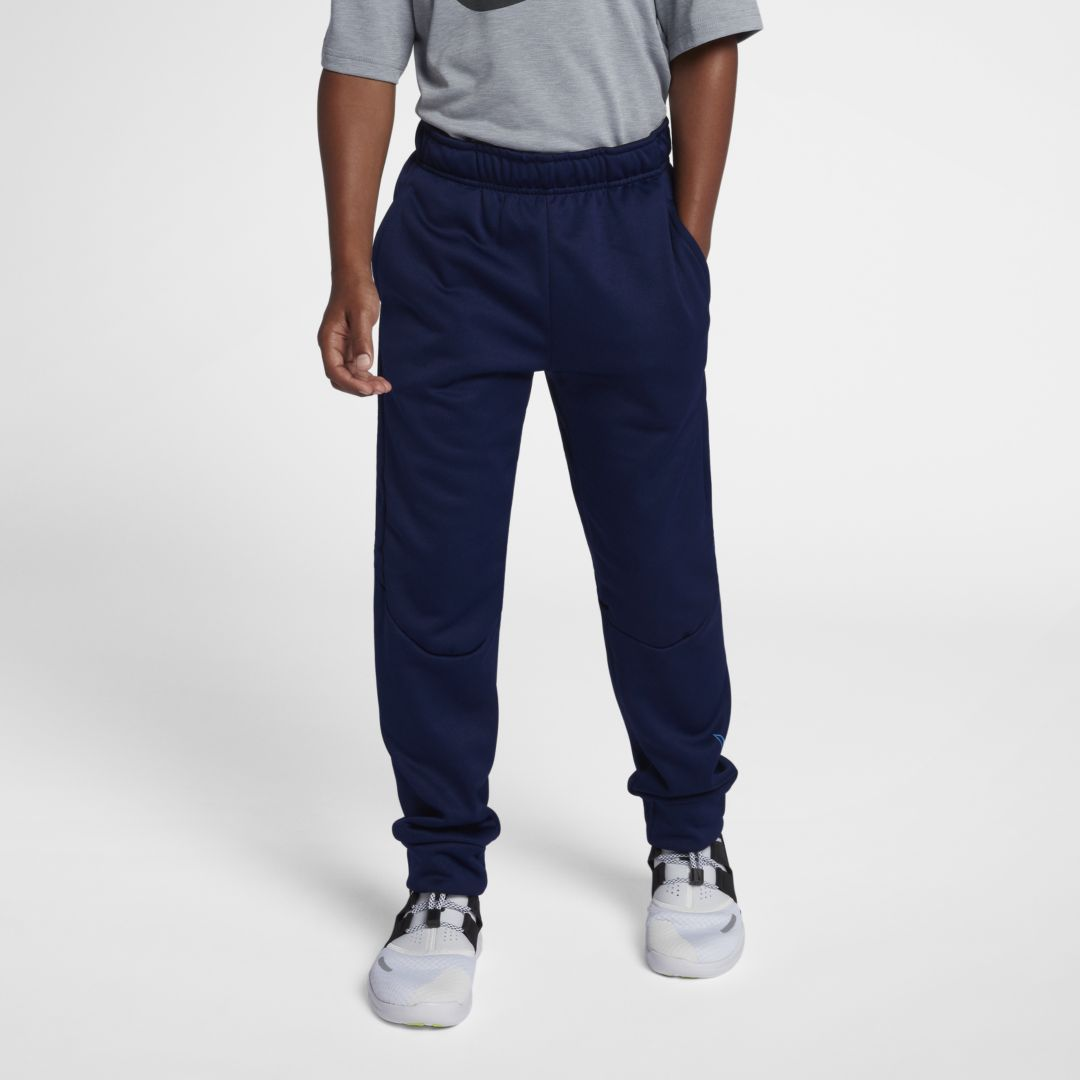 Nike drifit therma big kids boys training pants size