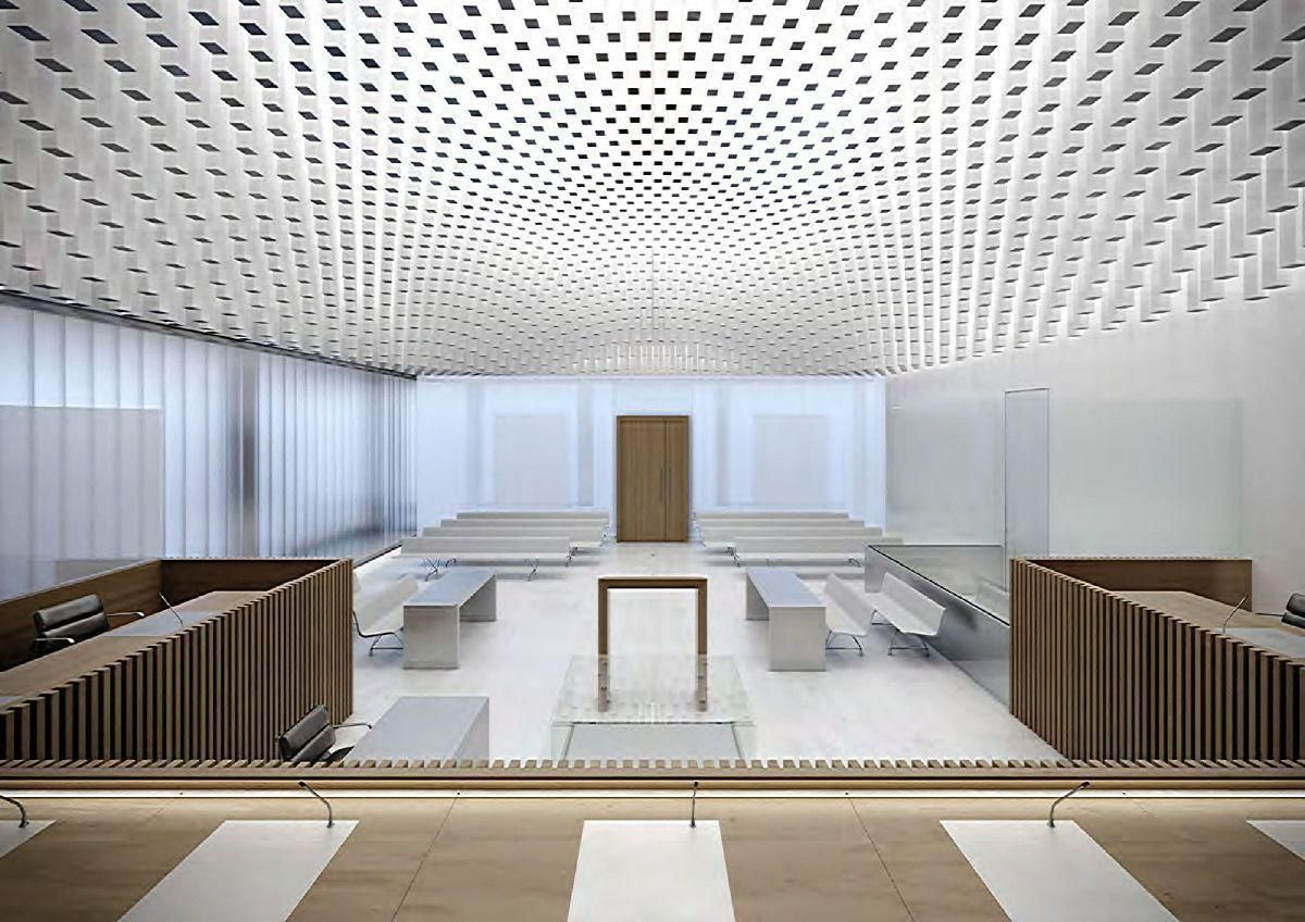 be Baumschlager Eberle . THE NEW LAW COURTS . CAEN (85)