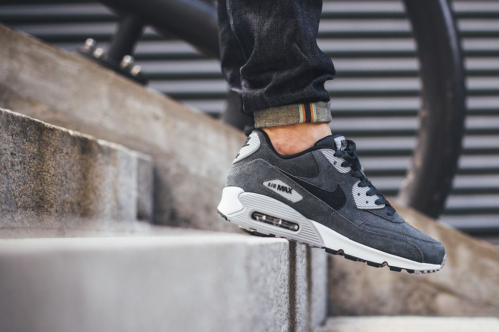Nike Air Max 90 Anthracite White Black Cool Grey