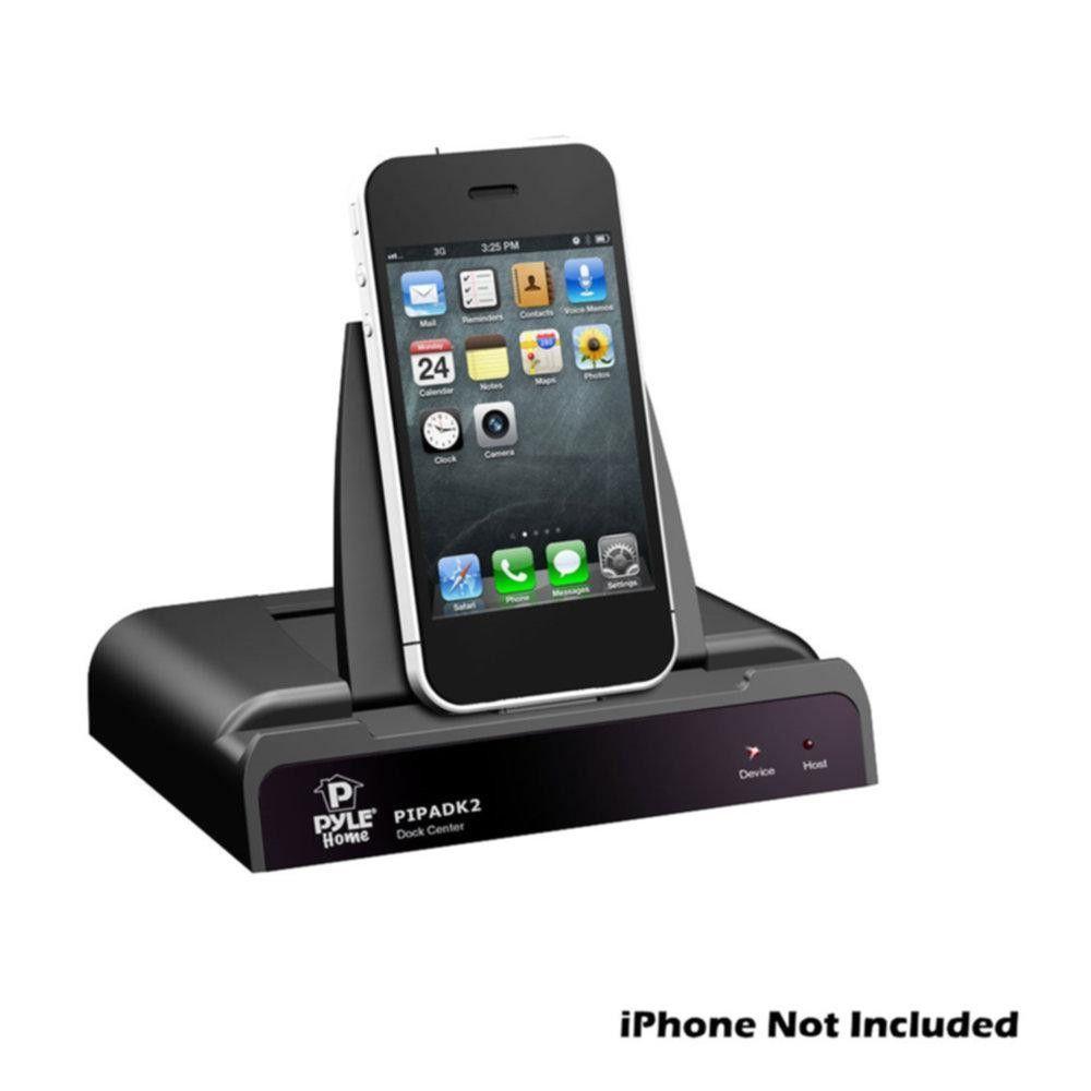 Pyle universal ipod ipad iphone docking station for audio video pyle universal ipod ipad iphone docking station for audio video output charging publicscrutiny Images