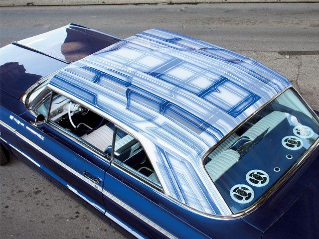 1964 chevrolet impala custom top custom paint i like. Black Bedroom Furniture Sets. Home Design Ideas
