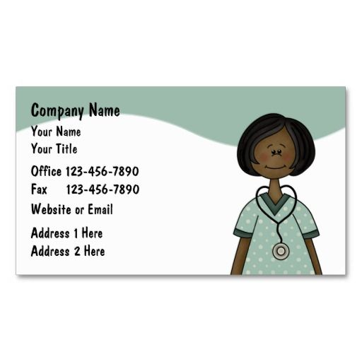 Nurse Business Cards Medical Professionals Business Cards - business card template for doctors