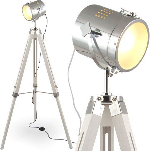 l31 mojo stehlampe stehleuchte tripod lampe leselampe leseleuchte shabby chic tripodlampe. Black Bedroom Furniture Sets. Home Design Ideas