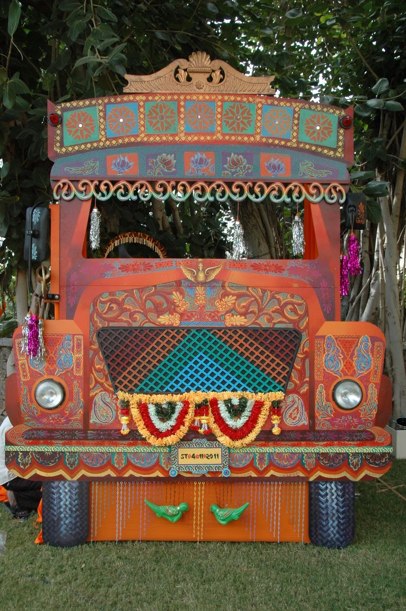 Truck Photobooth With Images Indian Theme Indian Wedding