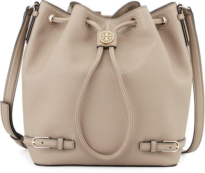 933a3768f5cf Tory Burch Robinson Leather Bucket Bag