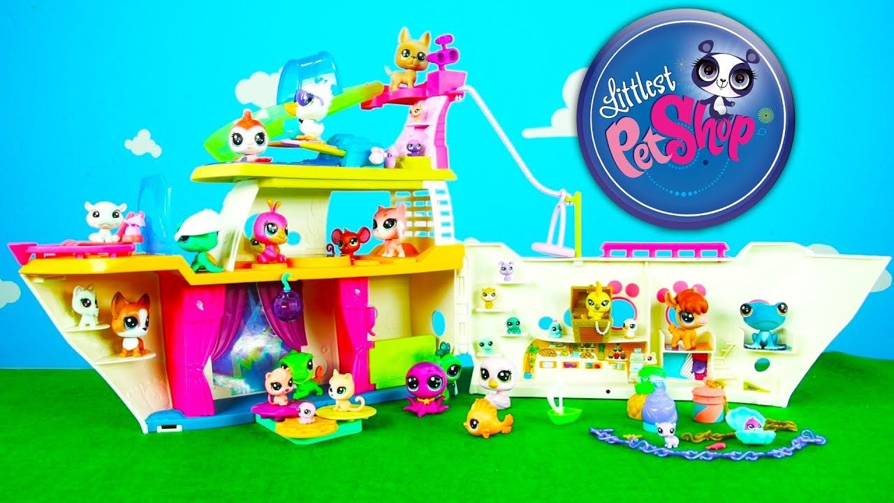Littlest Pet Shop Toy Review Lps Cruise Ship Kittens Puppies And More Kids Toys Series 1 With Images Little Pet Shop Toys Lps Littlest Pet Shop Little Pets