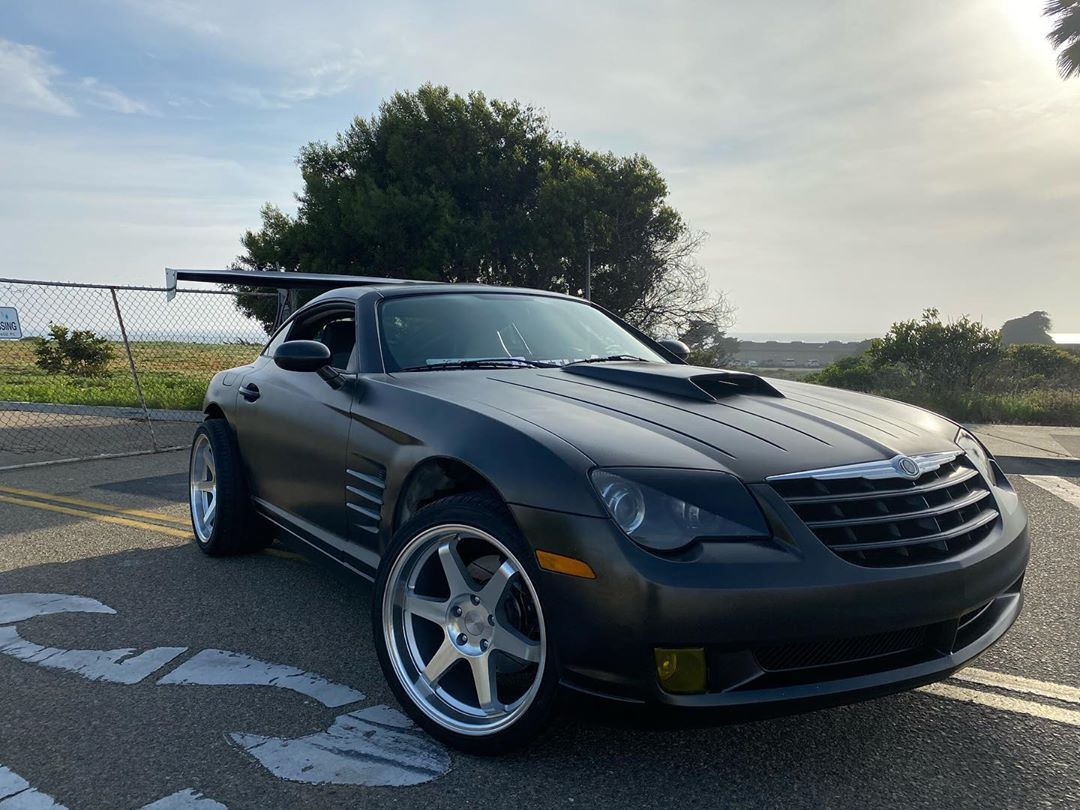 Chrysler Crossfire Chryslercrossfire Picture Credit To