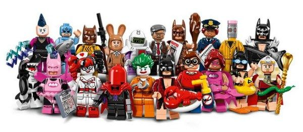 The LEGO Group Has Released 20 LEGO Minifigures From The LEGO Batman Movie