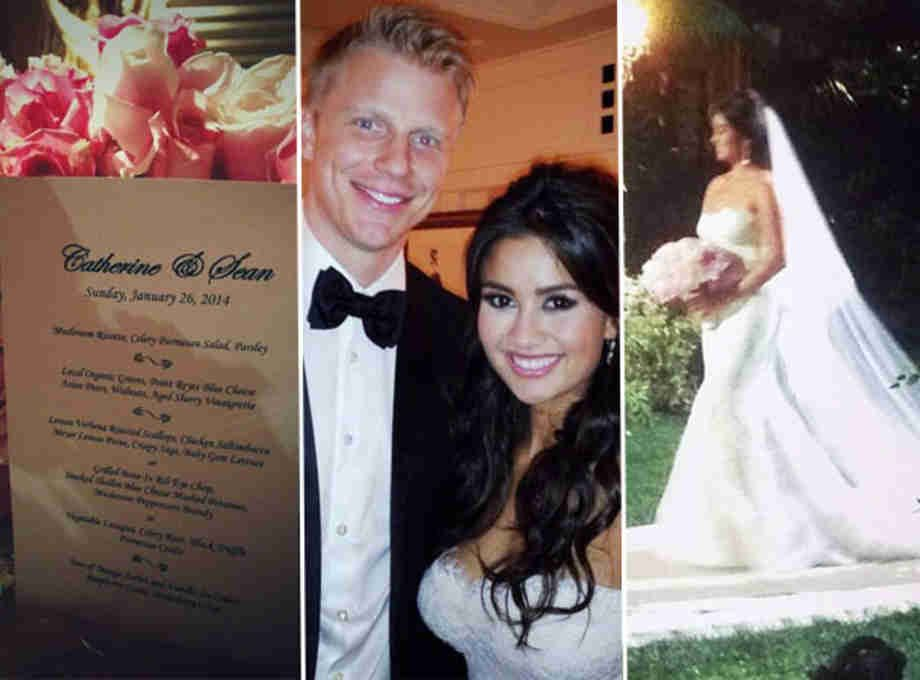 Sean Lowe The Bachelorette Wedding Hair And Makeup Sean And Catherine Wedding Wedding Hairstyles