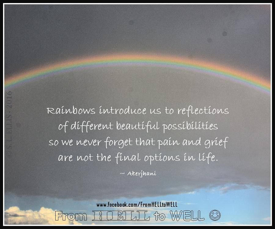 "Quotes That Give Us Hope: ""Rainbows Introduce Us To"