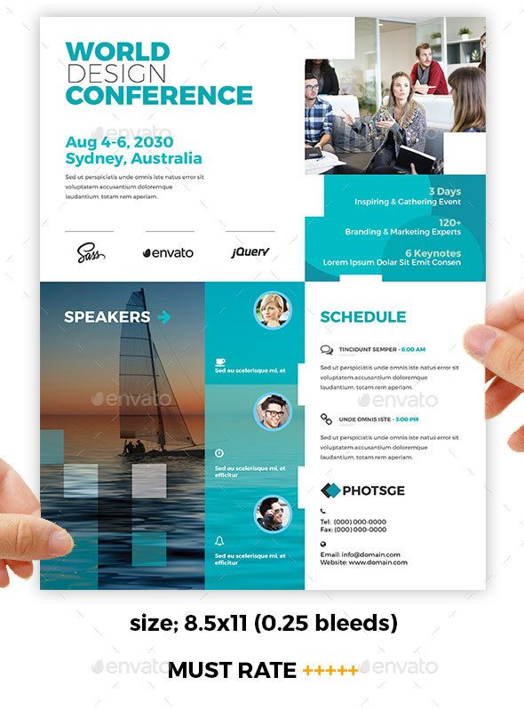 Conference  Training Flyer  Template Flyer Template And Business
