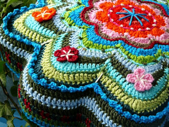 Bunte Nadel - Blog: E-Book BANJU | Crochet | Pinterest | Nadel, Bunt ...