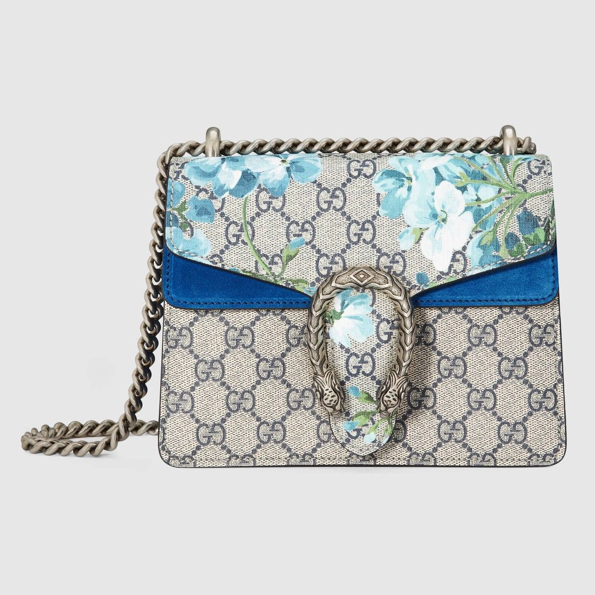 298fb4aa9f1c GUCCI Dionysus Gg Blooms Mini Bag - Blooms Print.  gucci  bags  shoulder  bags  hand bags  canvas  suede