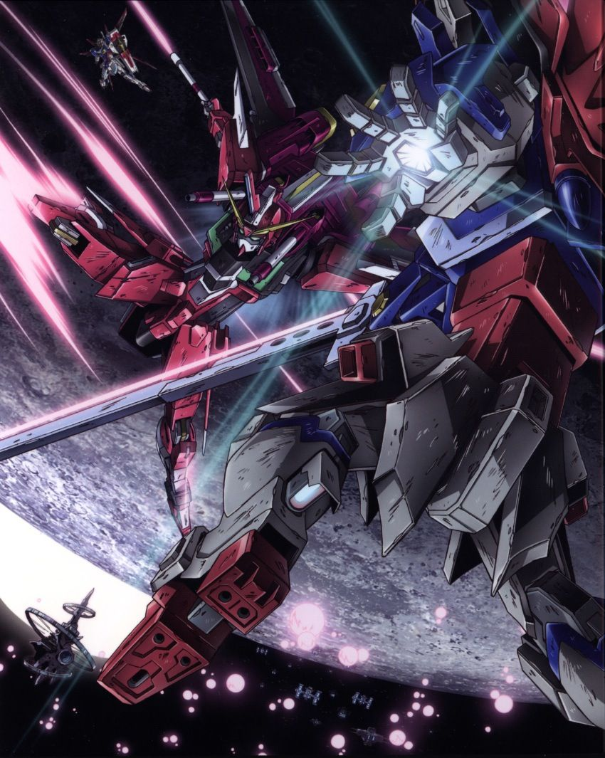 Mobile Suit Gundam Seed Destiny Infinite Justice Vs Destiny