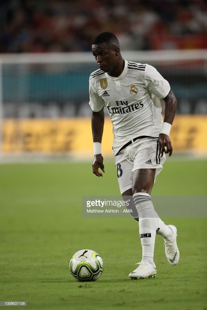 Vinicius Junior of Real Madrid during the International Champions Cup 2018  fixture between Manchester United v Real Madrid at Hard Rock Stadium on  July 31 8d619c74ee9e7