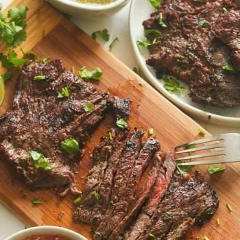 Marinated Grill Skirt Steak - Immaculate Bites
