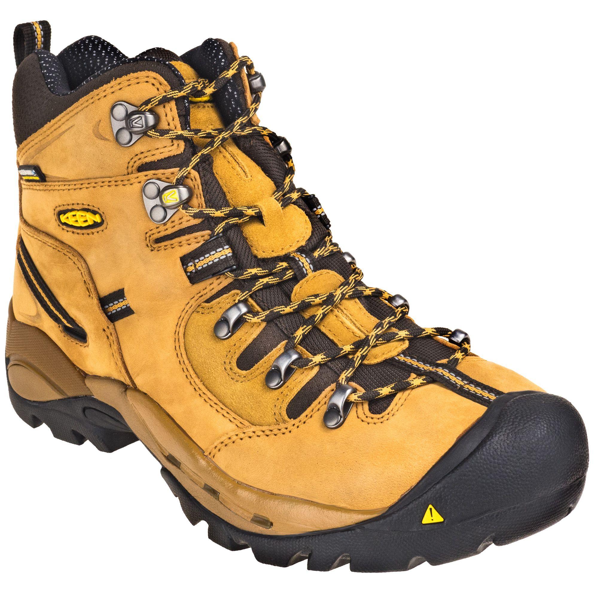 ad788952643 KEEN Utility Boots: Men's 1016948 Waterproof Steel Toe EH Wheat ...