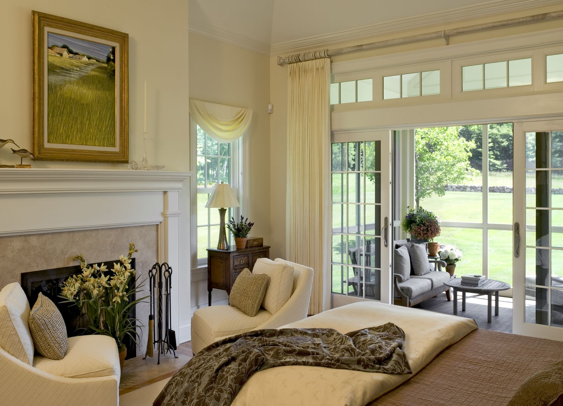 Best Screened Porch Off Master Bedroom French Living Rooms 640 x 480