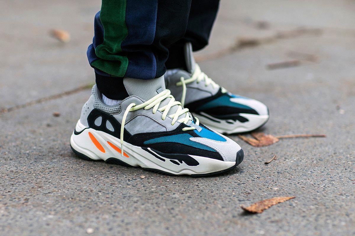 See What Kanye West's Yeezy Wave Runner Sneakers Look Like