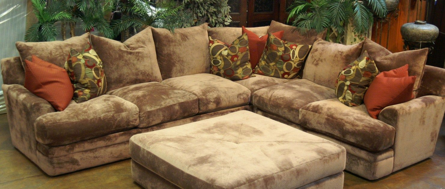 oversized sectional | Tara Sofa Sectional Collection From Robert Michael Furniture : oversized sectional with ottoman - Sectionals, Sofas & Couches