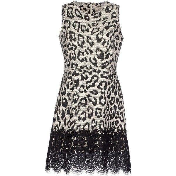 Sea Short Dress (£121) ❤ liked on Polyvore featuring dresses, black, zip dress, 2 tone dress, zipper mini dress, no sleeve dress and sea, new york